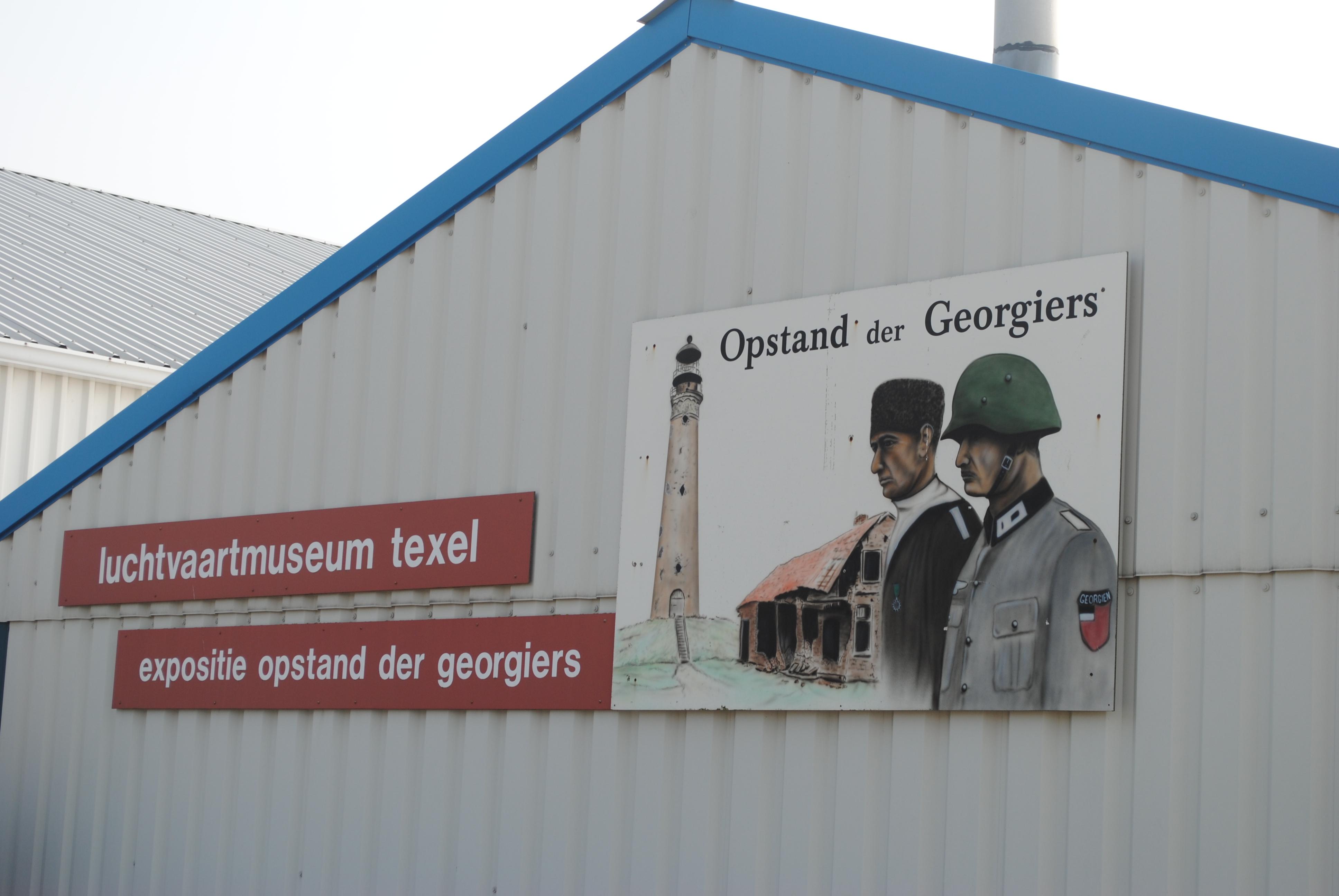Expositie opstand der Georgiers.