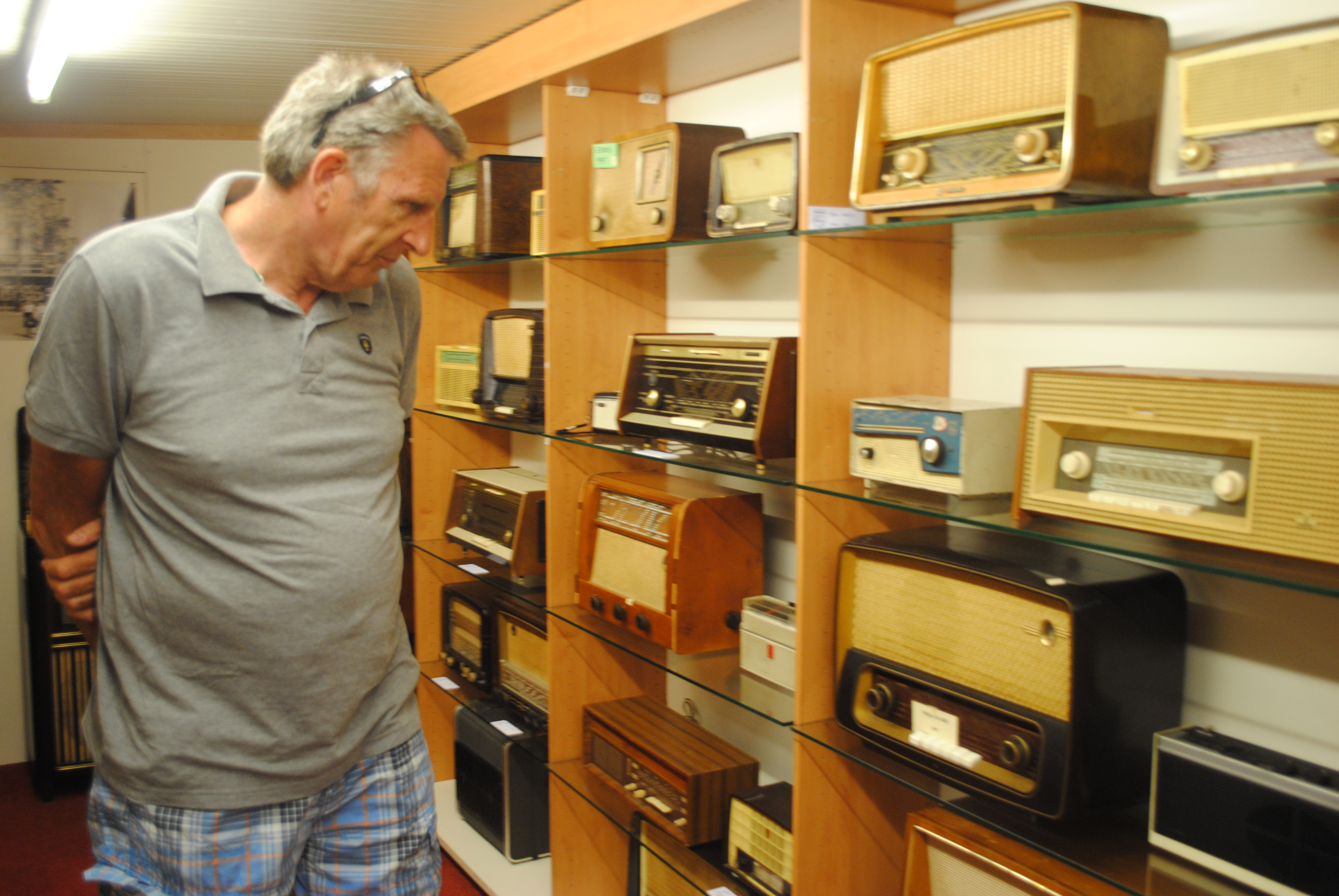 Oude radio's.
